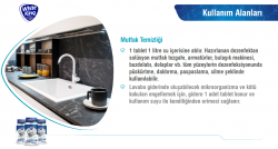 White King - Yer Yüzey Dezenfektanı 30 Tablet=30 Litre Chlorex Klor Tablet